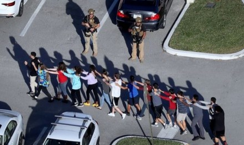 Nikolas Cruz, 19, killed 17 people at Marjory Stoneman Douglas High School in Parkland, Florida.