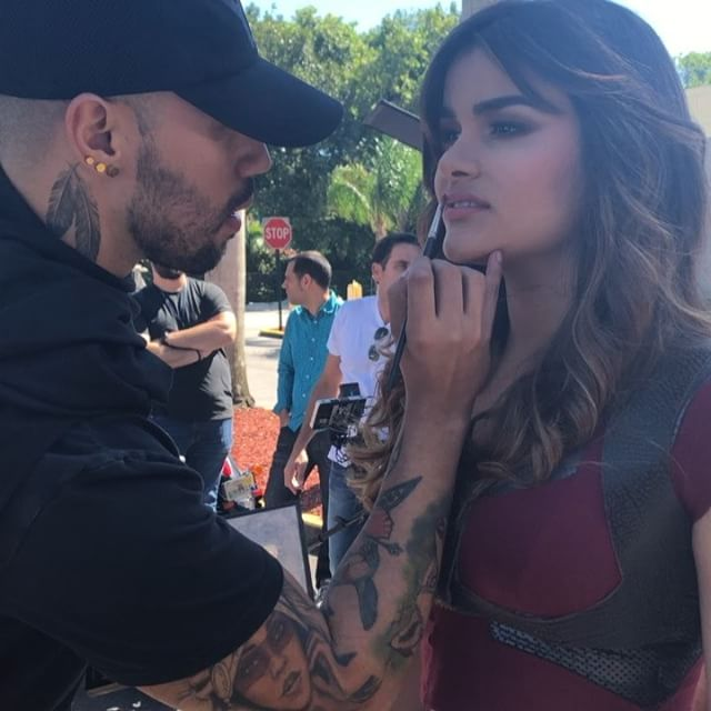 Feel beautiful inside and outside with celebrity makeup artist  Andrés Felipe.