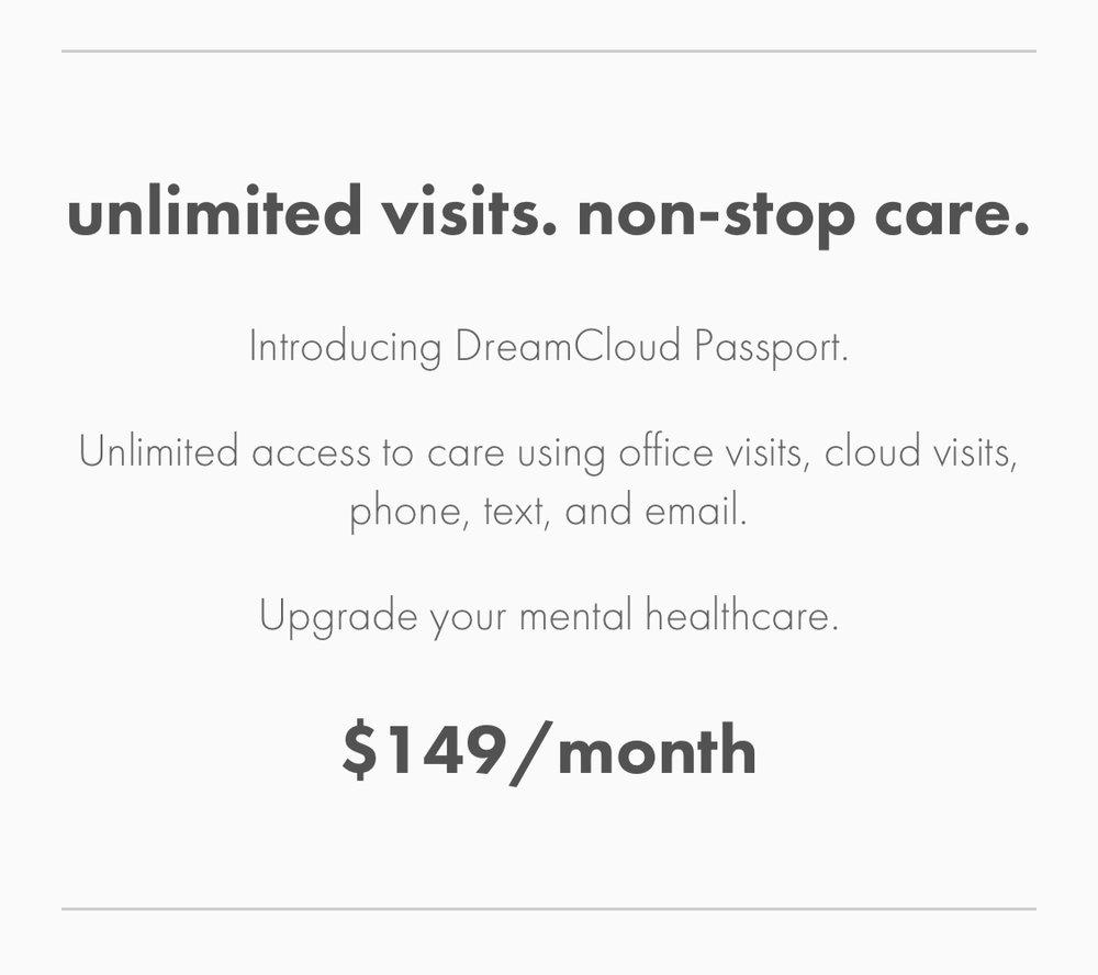 Visit www.dreamcloudpsychiatry.com