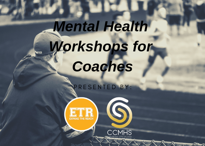 Expand The Reach  aims to support coaches and provide them with the necessary tools to assist with the identification of behaviours that may indicate mental health challenges.