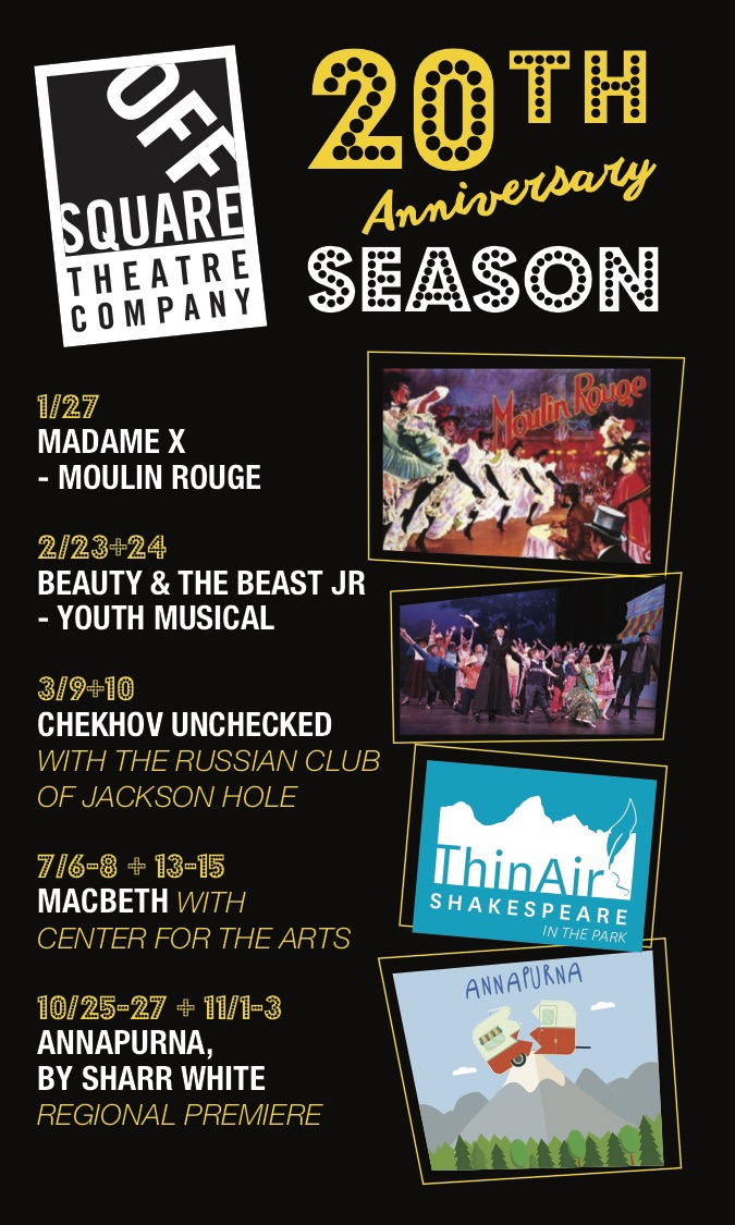 2018 marks Off Square Theatre's 20th Anniversary Season! - Celebrate with us by joining the fun at one of our incredible upcoming shows this year, and feel free to have a look through all the fun we have had so far!