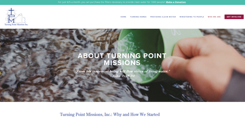 Turning Point Missions - About
