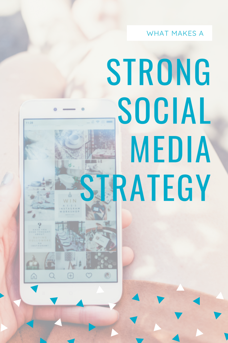 What makes a strong social media strategy?