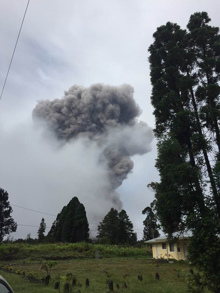 Photo by Robert Keoni Bankston, Volcano resident