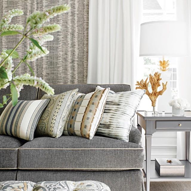 Looking for an update?  We are loving these new fall fabrics and wallpaper. Come see what is new at Steel Roots Home Decor. #thibautwallpaper #norwalkfurniture ##steelrootshd #simplyointeriors
