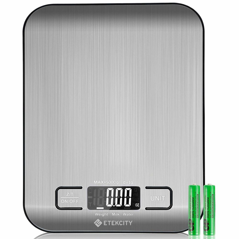 Etekcity Digital Kitchen Food Scale (Batteries Included) -