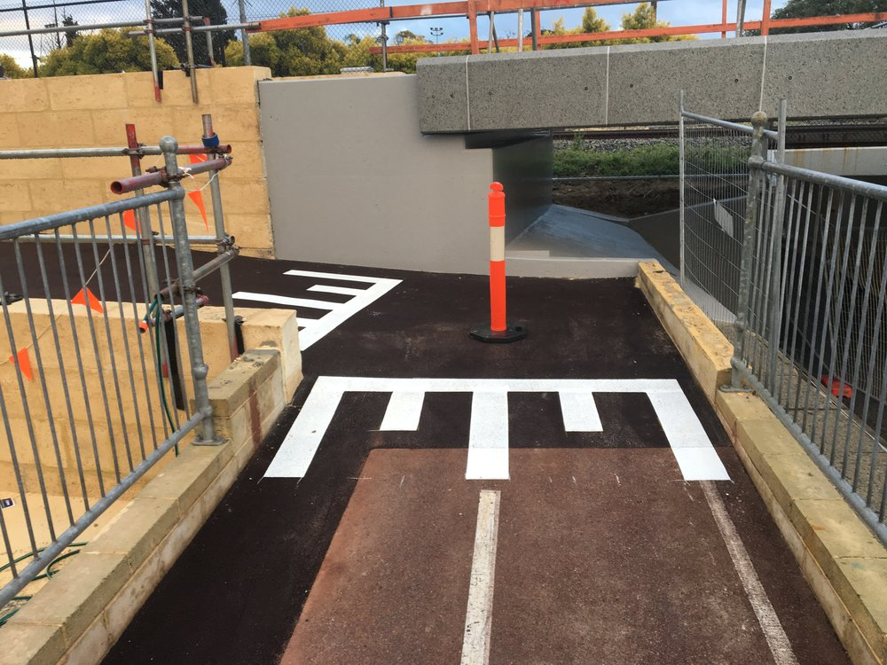 BAYSWATER PRINCIPLE SHARED PATH - 👥 Public Transport Authority📅 Apr 17 - Mar 18