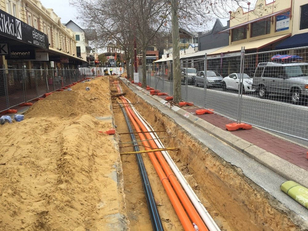 ROKEBY ROAD COMBINED SERVICES - 👥 Water Corporation, ATCO Gas, City of Subiaco📅 Aug 16 - Mar 17
