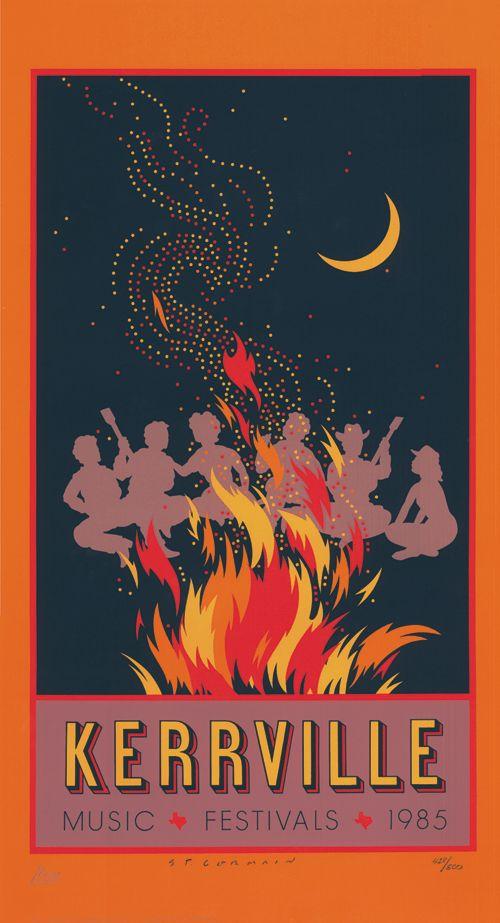 1985 Kerrville Folk Festival Poster