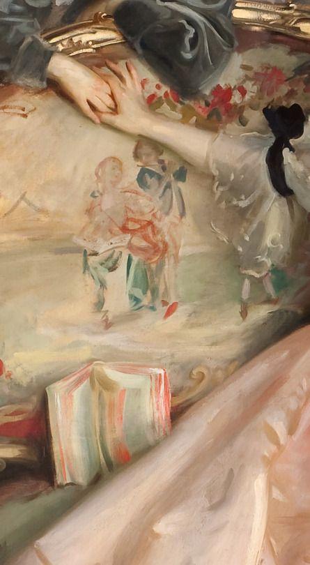 John Singer Sargent - Mrs. Carl Meyer and her Children (detail), 1896