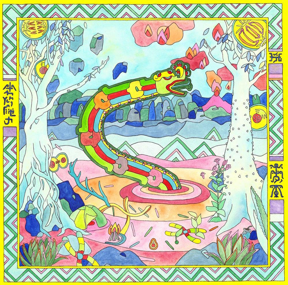 """El Renacer de México"" - Album cover by Stella Ismene"