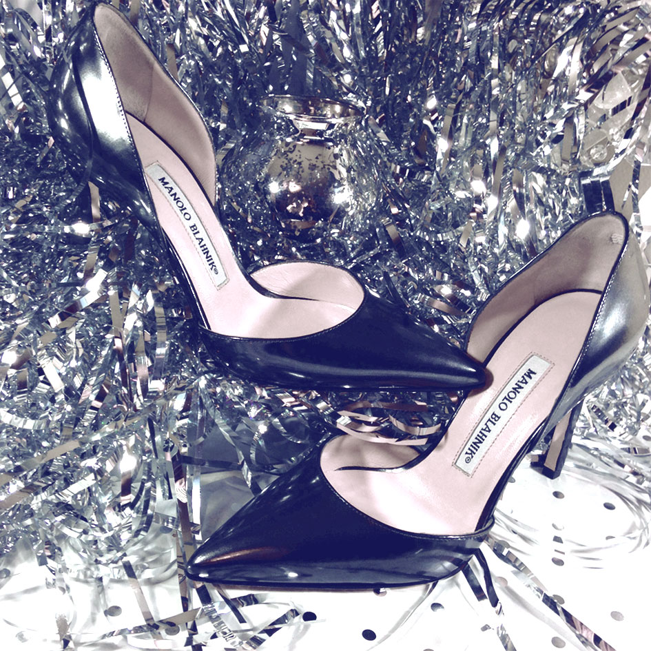 New Year's Eve with Manolo Blahnik