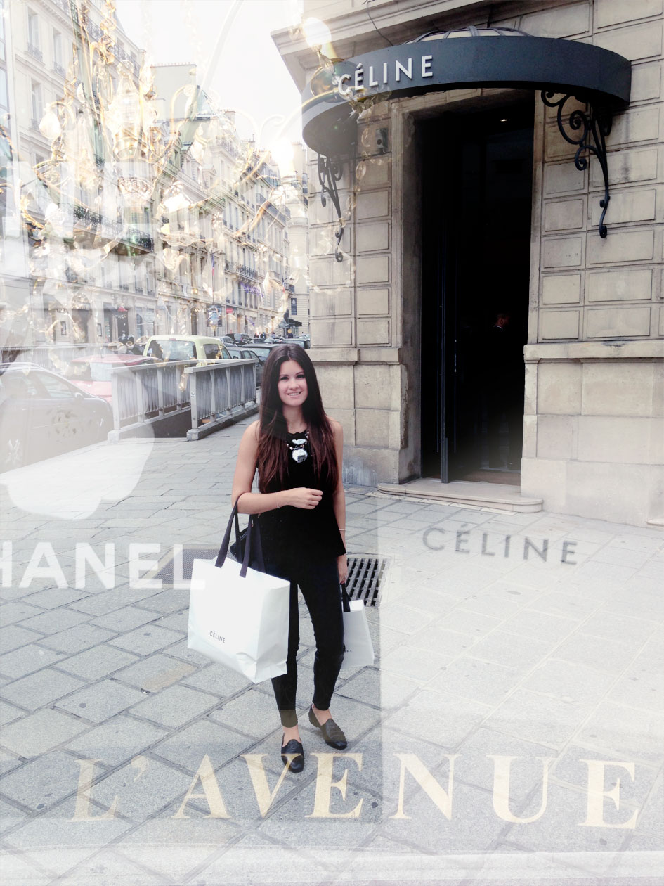 Shopping In Paris at Celine