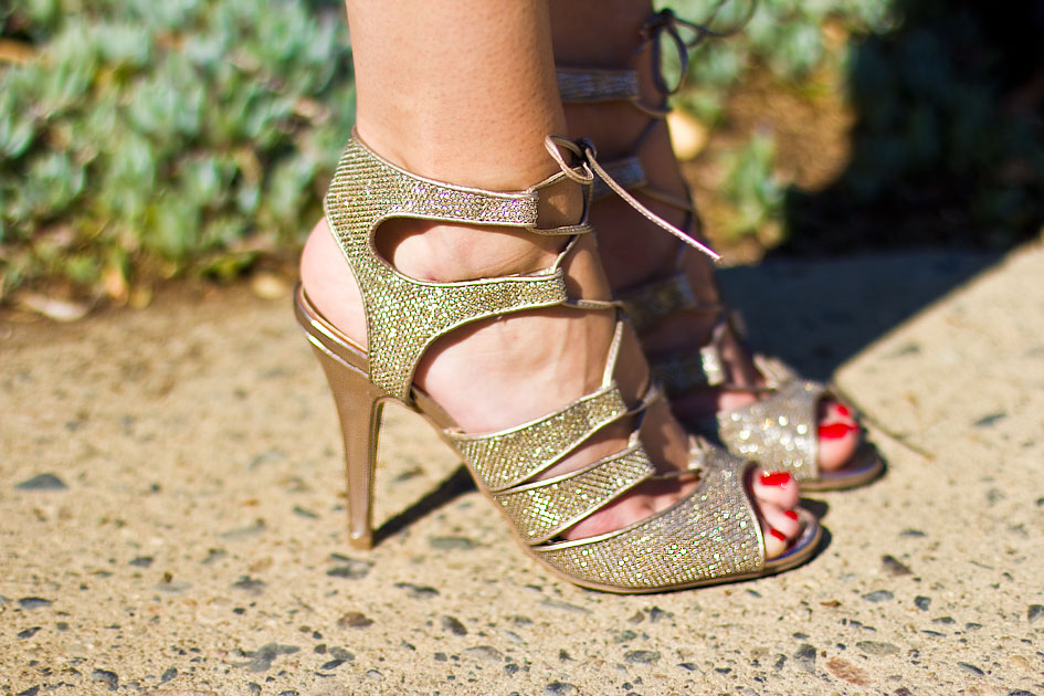 Guess Delmore Sandal Gold