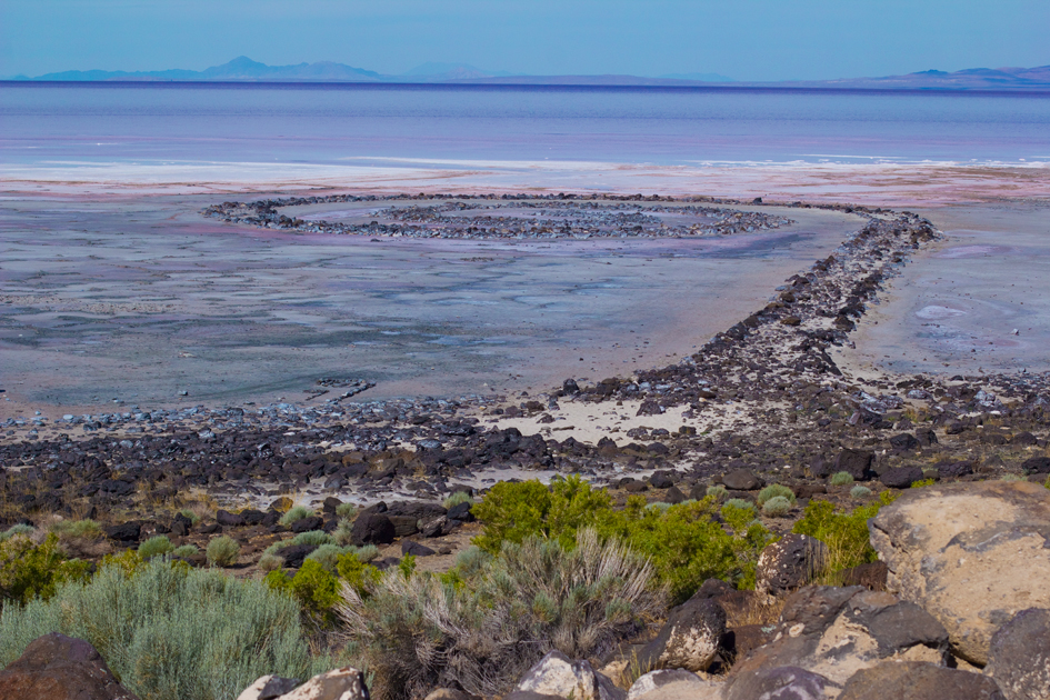 Photo Diary: Salt Lake City, Utah spiral jetty utah