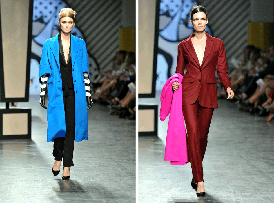 Bold Color Fall 2014 Fashion Trend