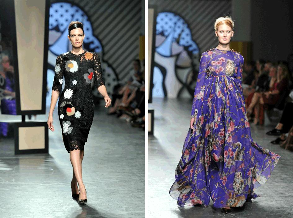 Floral Prints Fall 2014 Fashion Trend
