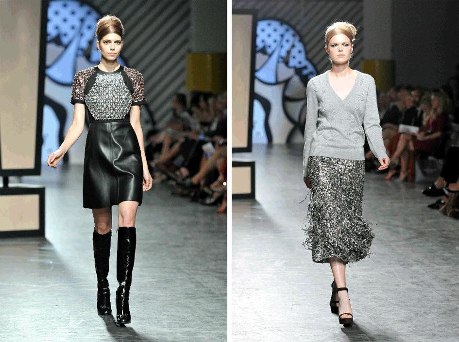 Metallic Fall 2014 Fashion Trend