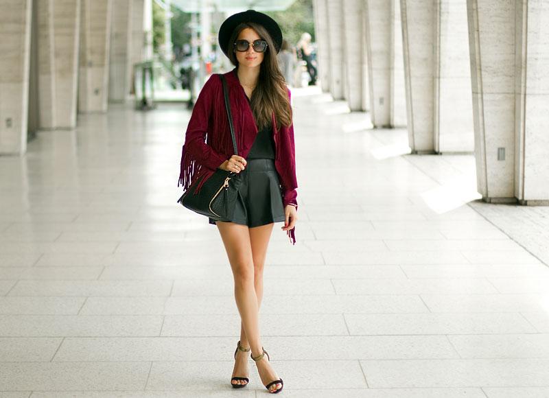 fringe jacket fall 2014 western trend