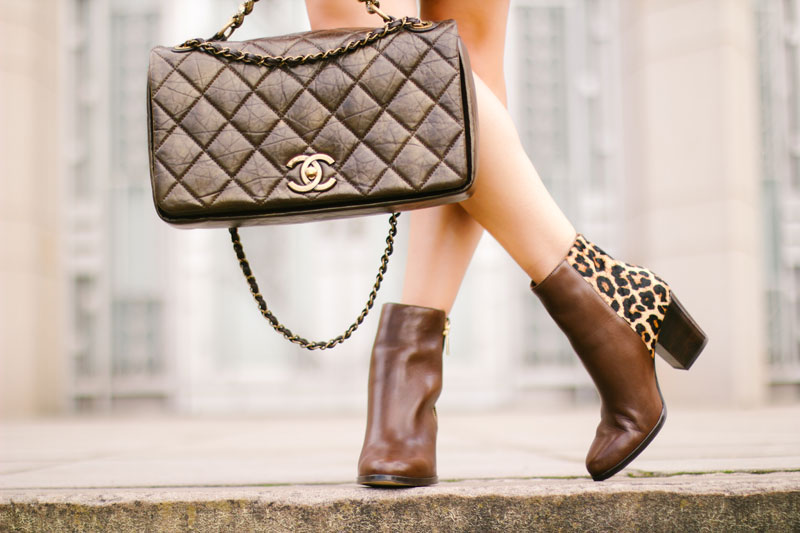 Leopard Fall Fashion Trend Michael Kors Leopard Ankle Boot
