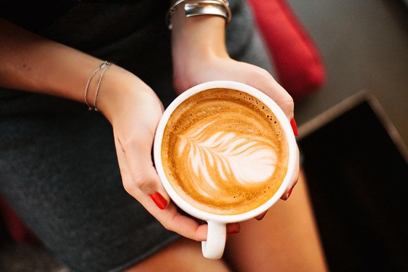coffee latte art Fresh Flours Ballard
