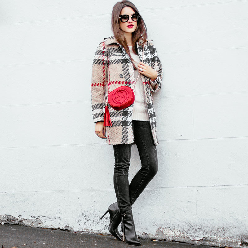 Burberry Plaid Checkered Jacket