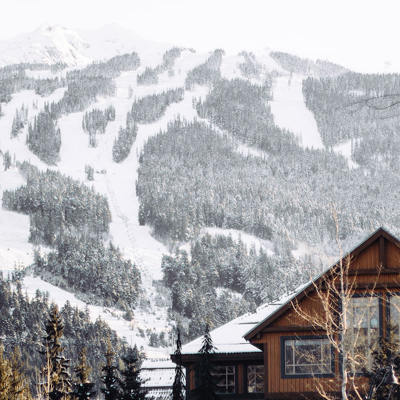 Whistler Canada Ski Mountain