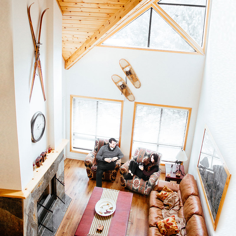 whistler cabin interior decor