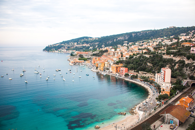 Nice France French Riviera Baie des Anges