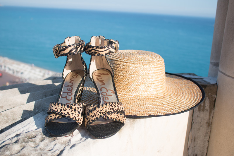 Sam Edelman Silvia Animal-Print Wedge Sandals