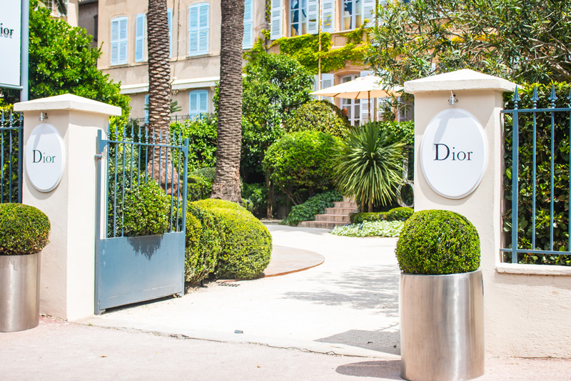 Dior Store in Saint-Tropez on the French Riviera