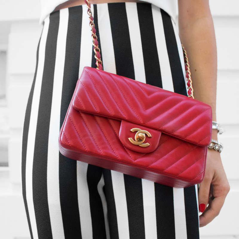 Red Chanel Handbag