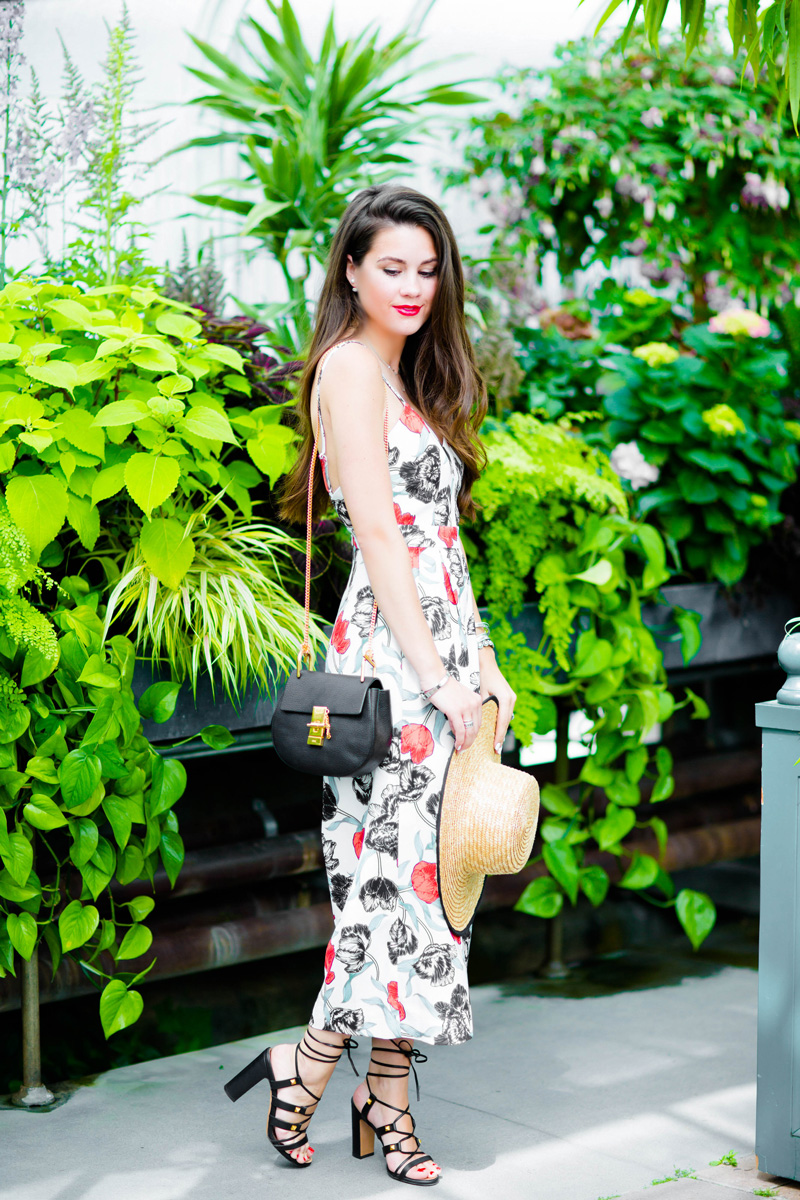 C/Meo Collective Power Trip Floral Jumpsuit