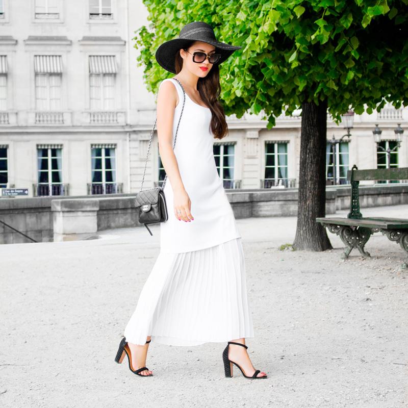 bailey44 alice dress Tuileries Garden paris france