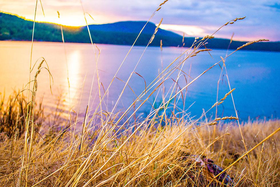 Orcas Island San Juan Islands Sunset