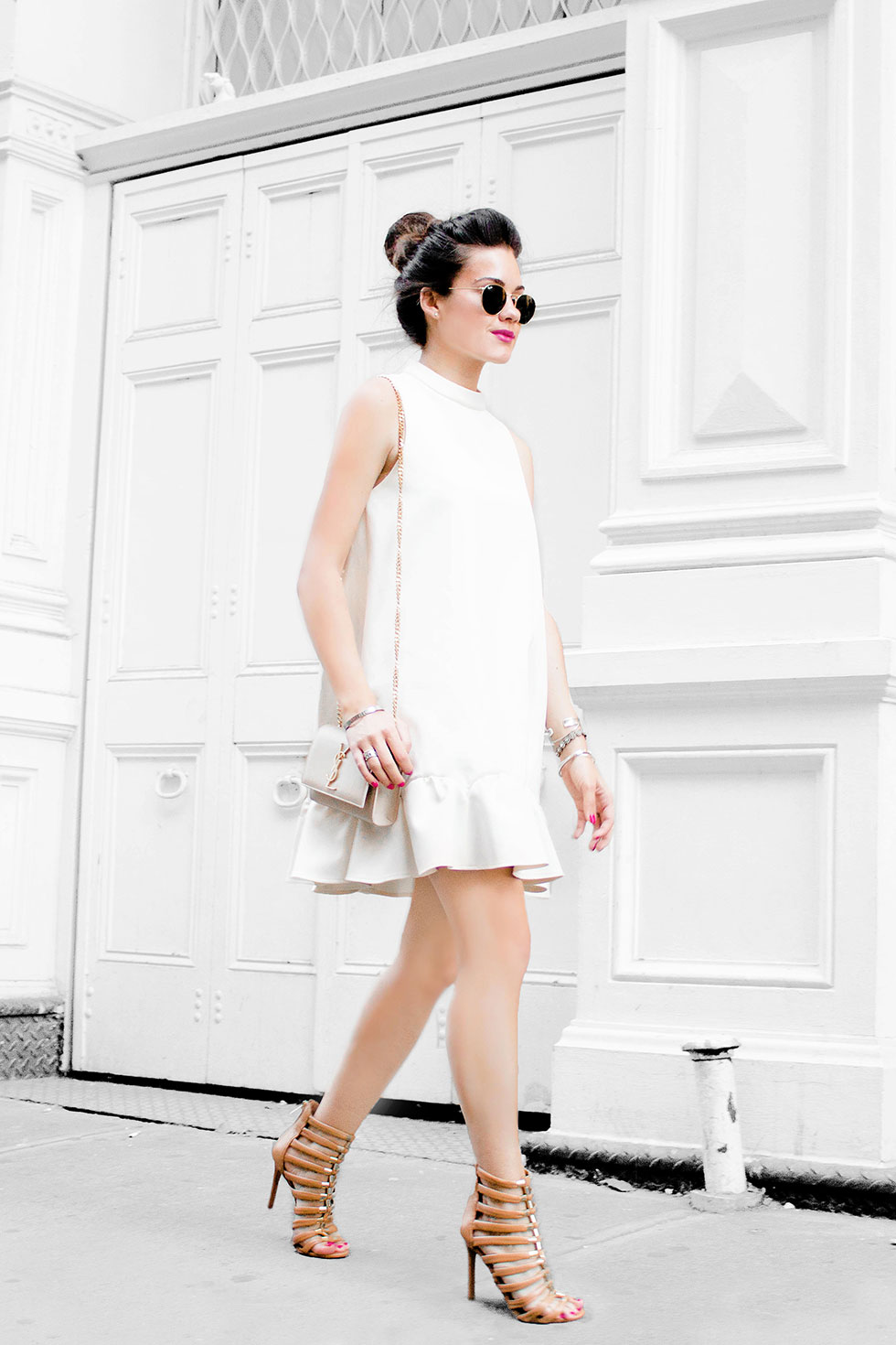 Rachel Zoe Clamencia Sleeveless A Line Dress