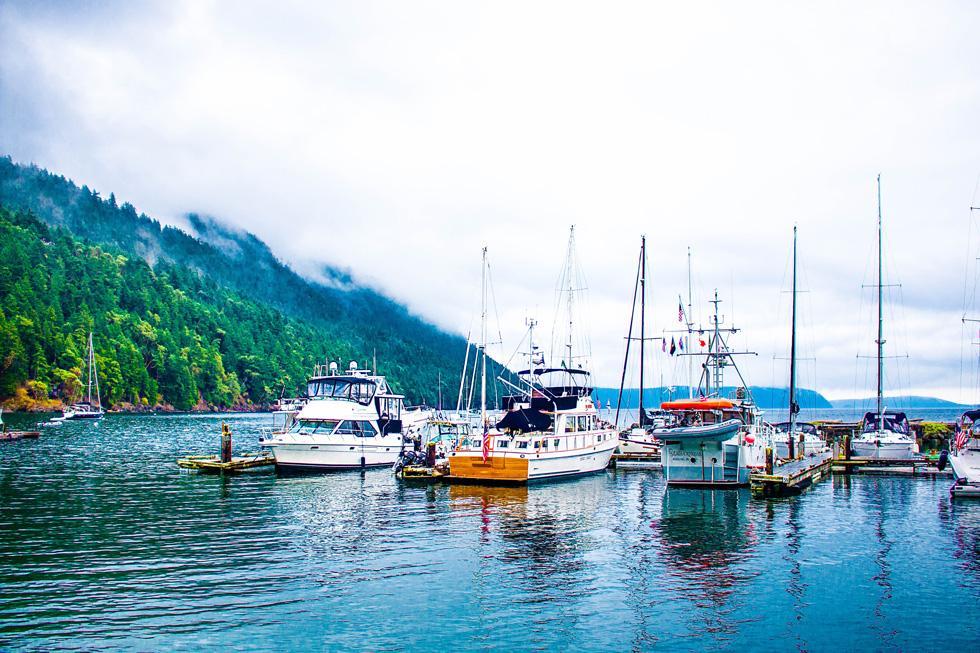 Rosario Marina Cascade Bay East Sound Orcas Island