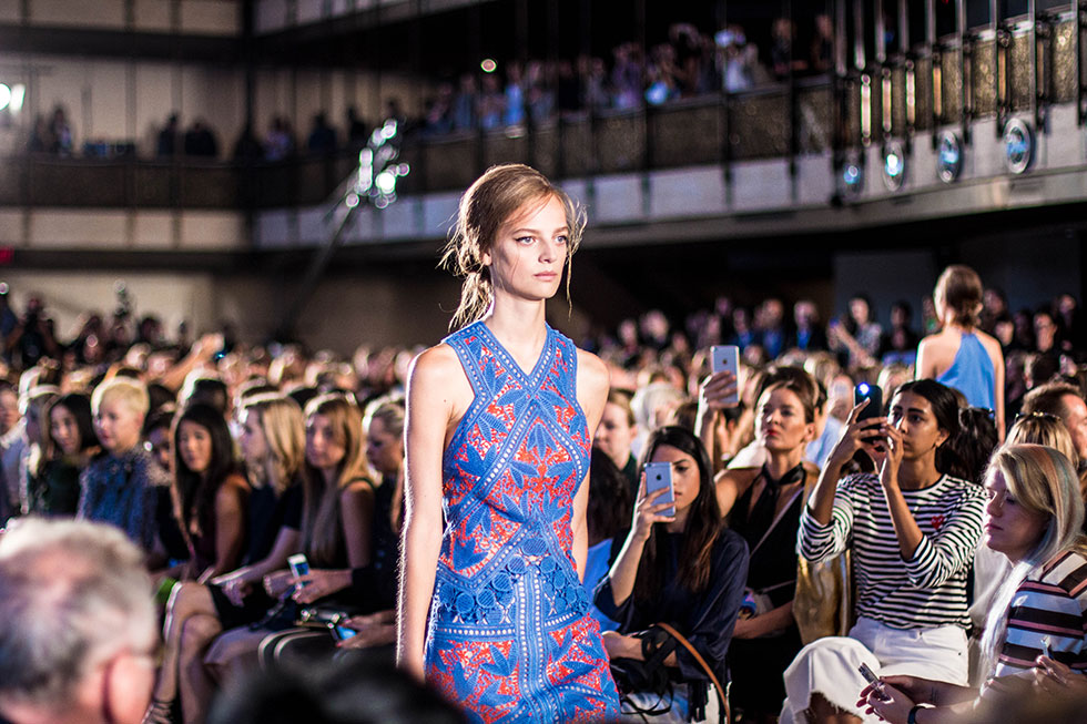 Top New York Fashion Week Moments New York Fashion Week Spring Summer 2016 Fashion Trends