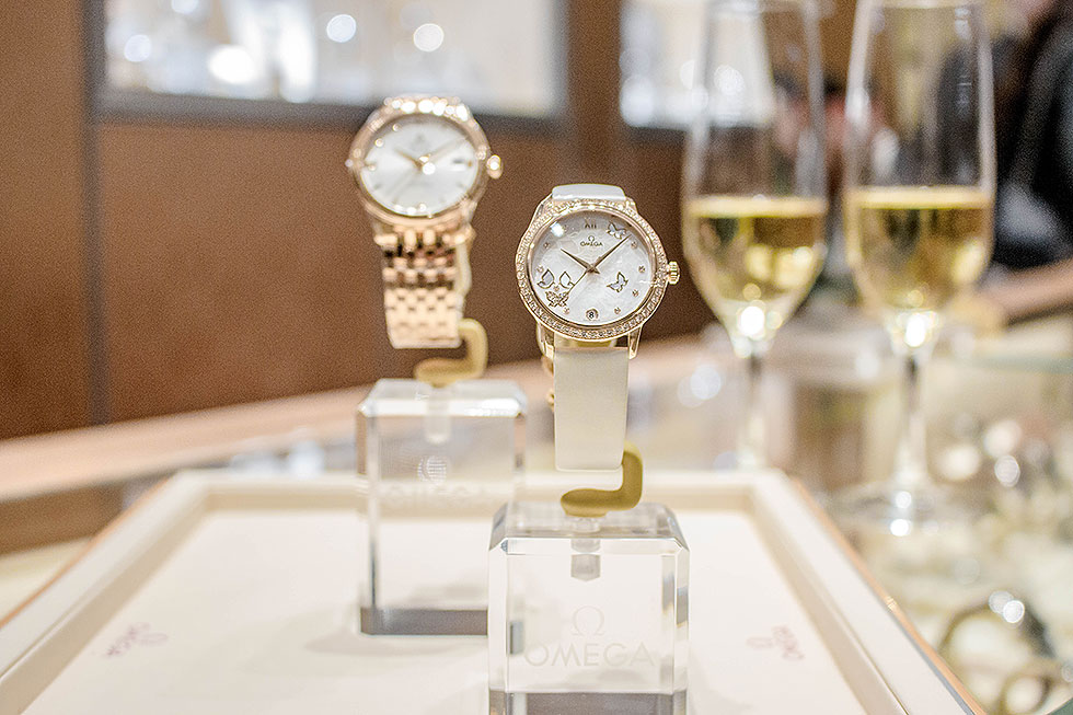OMEGA boutique at The Bravern in Bellevue, WA