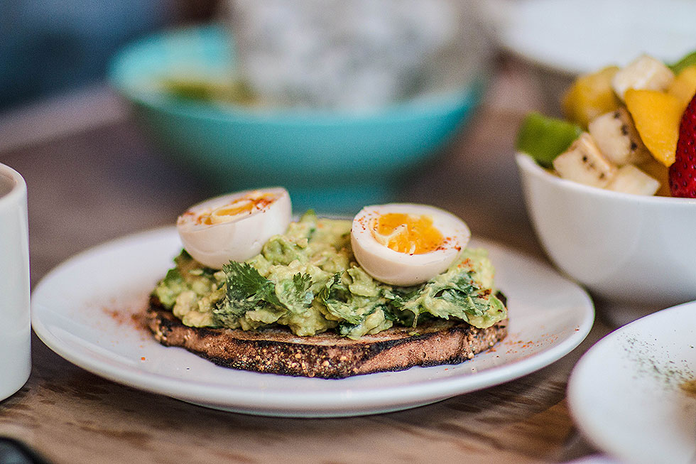 Stateside AVOCADO TOAST with soy marinated soft boiled egg The Fashion Girl's Guide to Eating in Seattle