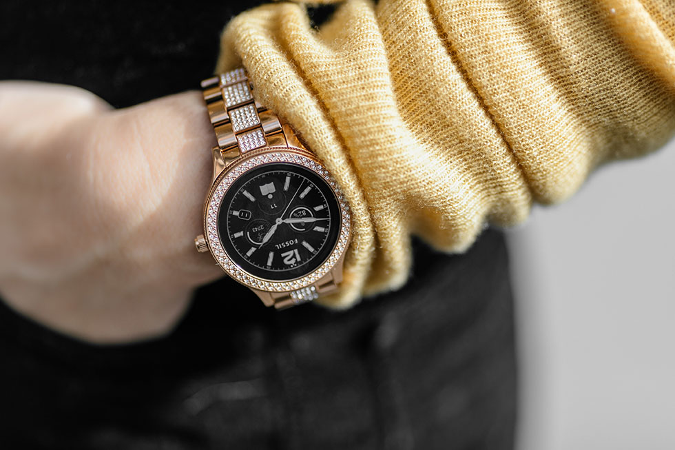 Fossil Smartwatch Q Venture Smartwatch Gold