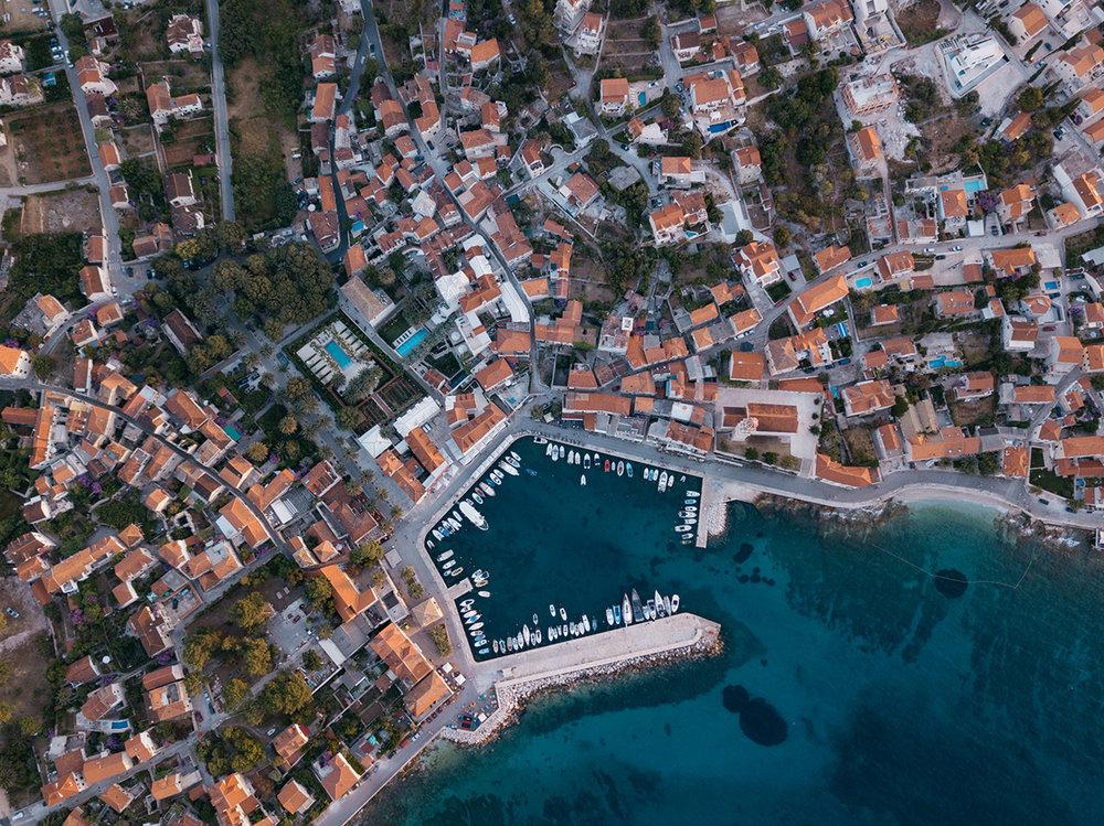 Croatia Drone Split Braç