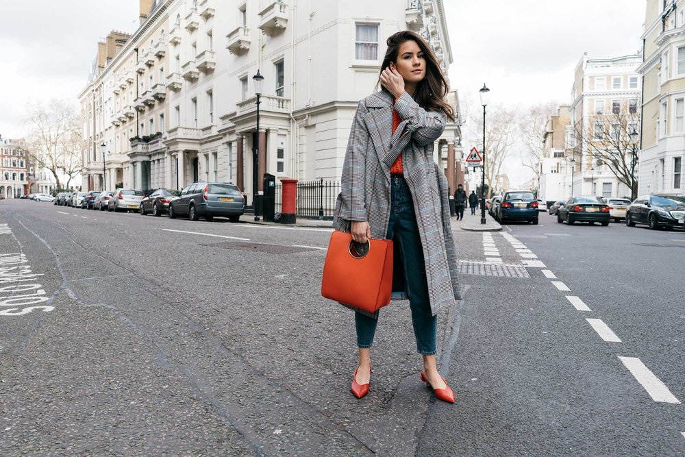 Lightweight-Check-Coat,-Salvatore-Ferragamo-Red-Leather-Tote,--Mom-jeans,-London-Fall-Outfit-Red-Accessories-7.jpg