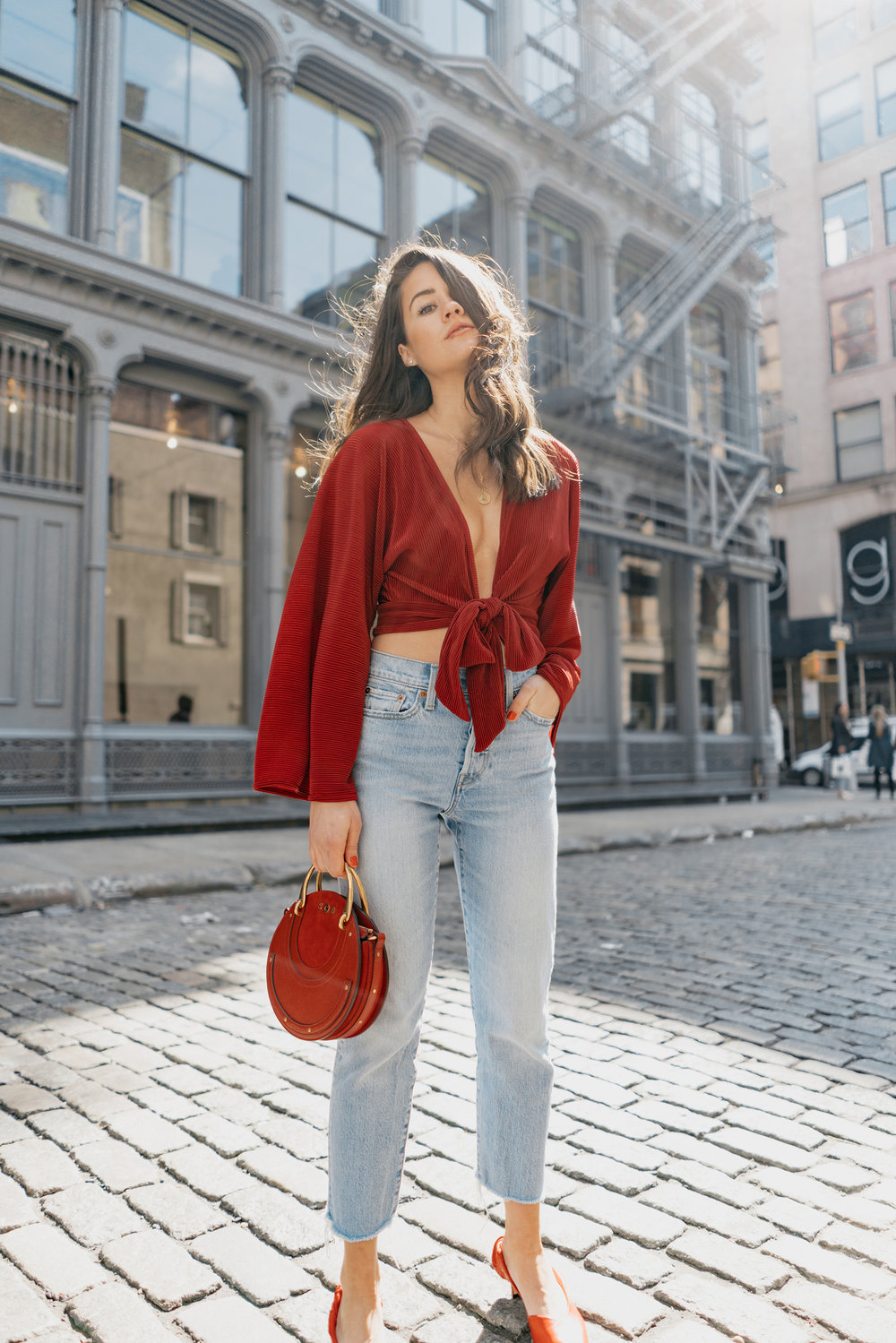 Red-Kimono-Tie-Front-Top-Ruby-Chloe-Pixie-Leather-Crossbody-Bag-4.jpg