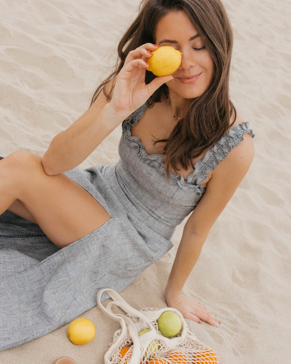 Reformation Lavendar Midi Dress Cotton Net Shopping Tote Newport Beach California Summer Outfit9.jpg