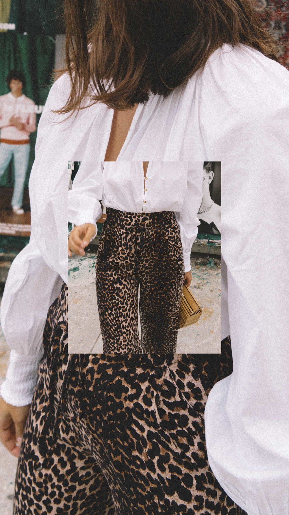 Paige high-rise culottes leopard print new york fashion week outfit2.jpg