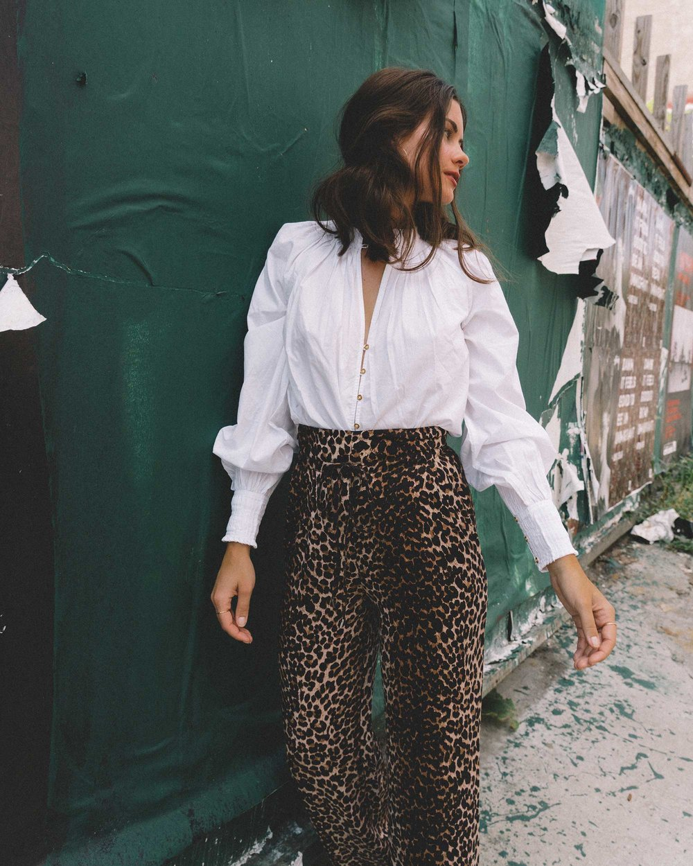 Paige high-rise culottes leopard print new york fashion week outfit15.jpg