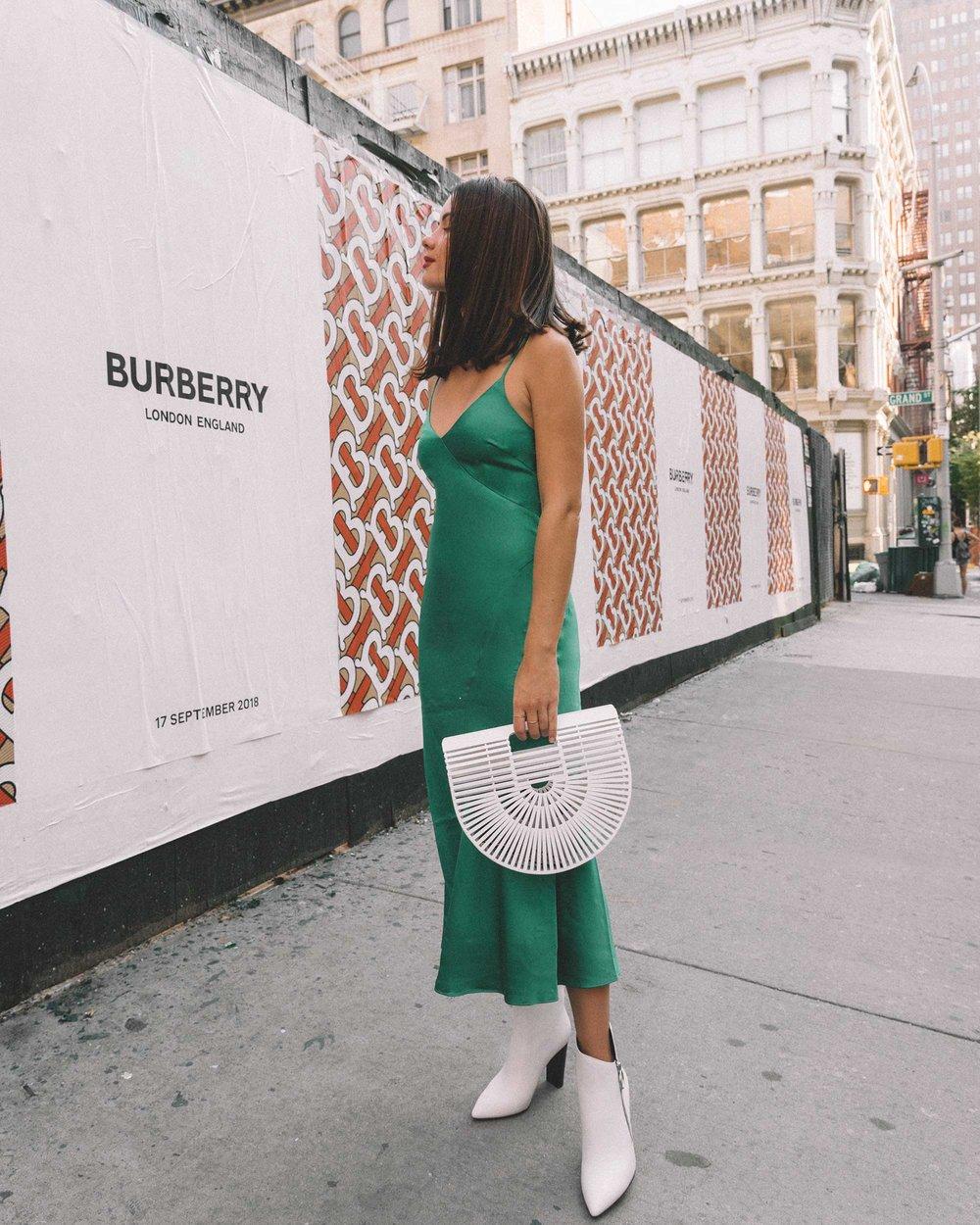 & Other Stories Green Midi Slip Dress5.jpg