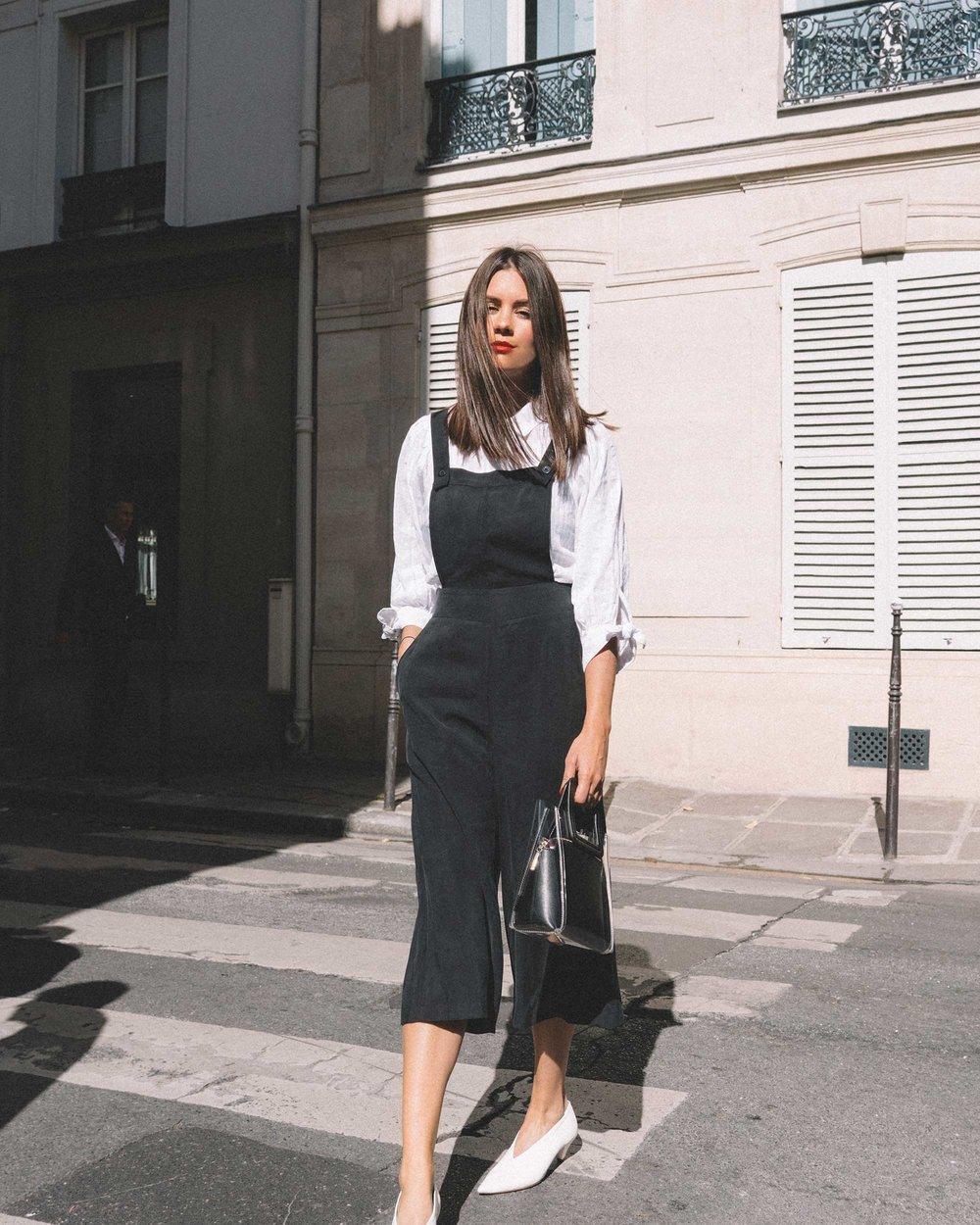 Black Culotte Overall Jumpsuit Paris Outfit4.jpg