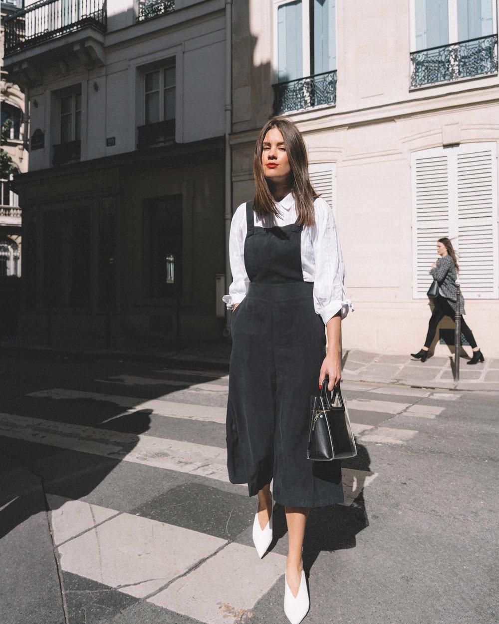 Black Culotte Overall Jumpsuit Paris Outfit2.jpg